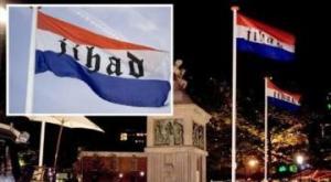 Jihad flag Enschede