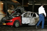 Jihad riots at the Allebeplein Amsterdam
