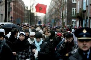 Islamic community praise the dead criminal