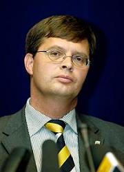 Dutch prime minister Balkenende