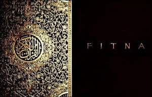 Openings shot of Geert Wilder his Koran movie named Fitna